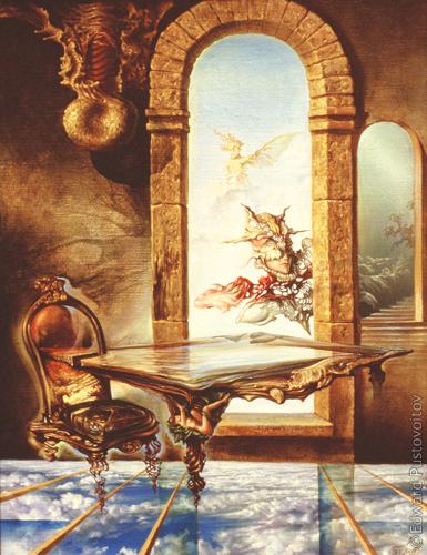 Кабинет. (частная коллекция, Стокгольм)