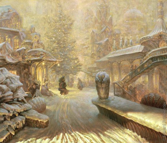 Рождественский романс. (частная коллекция, Рига)