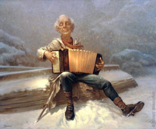 Забытая мелодия. (частная коллекция, Рига)