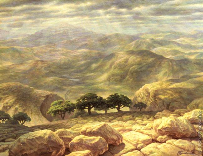 Святая земля. (частная коллекция, Рига)