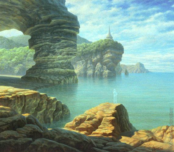 Изумрудный остров. Лоцман. (частная коллекция, Латвия)